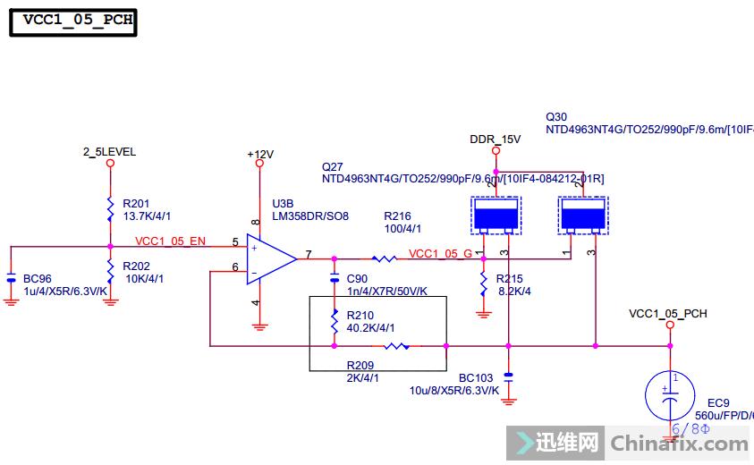 主板复位电路图原理